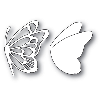 Memory Box FLITTER SIDE BUTTERFLY Craft Die 94002