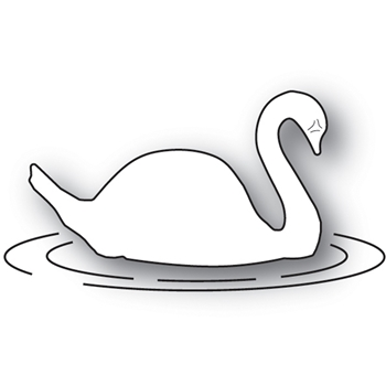 Memory Box FLOATING SWAN Craft Die 94012