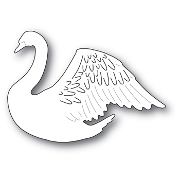 Memory Box PROUD SWAN Craft Die 94014