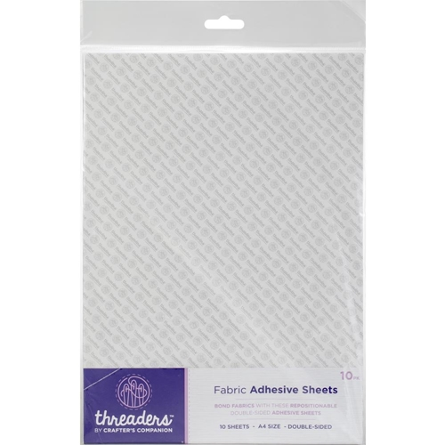 Crafter's Companion A4 FABRIC ADHESIVE SHEETS Threaders th-1093 Preview Image
