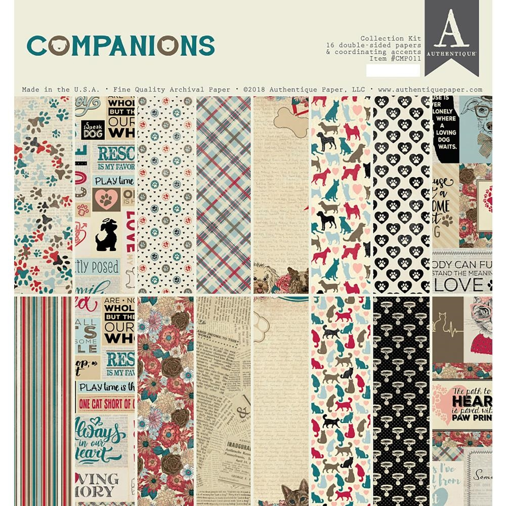 Authentique COMPANIONS 12 x 12 Collection Kit cmp011 zoom image