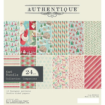 Authentique 6 x 6 JINGLE Paper Pad jin010