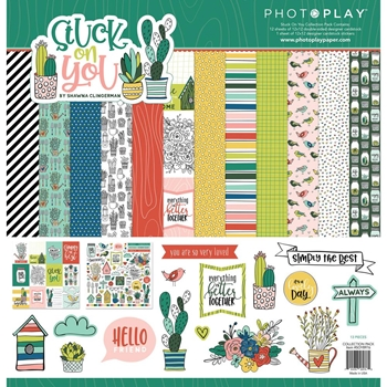 PhotoPlay STUCK ON YOU 12 x 12 Collection Pack soy8976