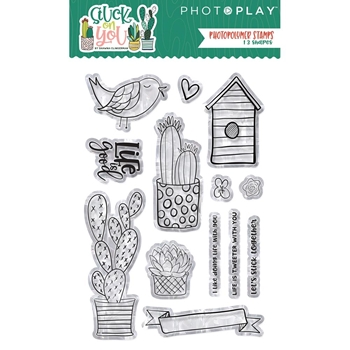 PhotoPlay STUCK ON YOU Clear Stamps soy8978