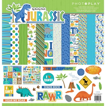 PhotoPlay JURASSIC 12 x 12 Collection Pack jur8965