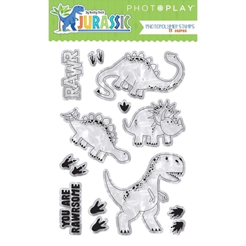 PhotoPlay JURASSIC Clear Stamps jur8967