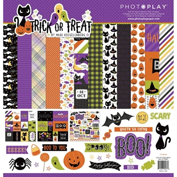 PhotoPlay TRICK OR TREAT 12 x 12 Collection Pack tt8987