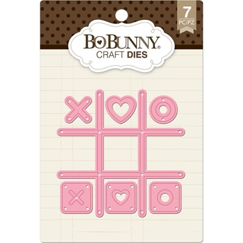 BoBunny TIC TAC TOE Craft Dies 7310176