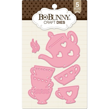 BoBunny TEA TIME Craft Dies 7310177
