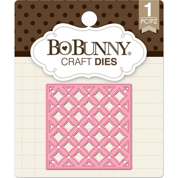 BoBunny TRELLIS SQUARE Craft Die 7310178