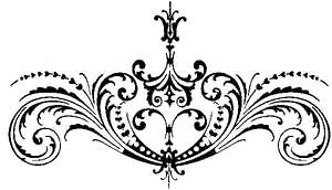 Tim Holtz Rubber Stamp SCROLLWORK Stampers Anonymous P5-1374 Preview Image