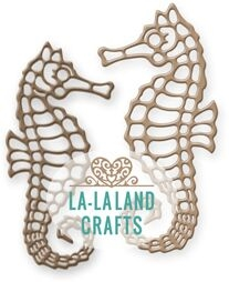 La-La Land Crafts SEA HORSES Dies 8387