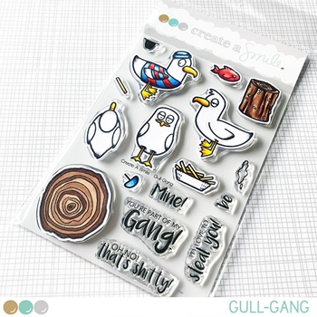 Create A Smile GULL-GANG Clear Stamps clcs80