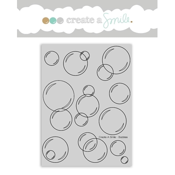 Create A Smile BUBBLES Cling Stamp cgcs15
