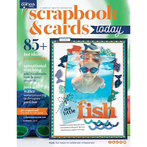 Scrapbook & Cards Today Magazine SUMMER 2018 Issue sctse18 Preview Image
