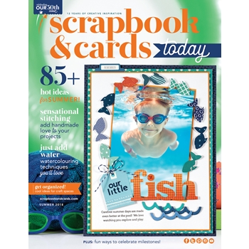 Scrapbook & Cards Today Magazine SUMMER 2018 Issue sctse18