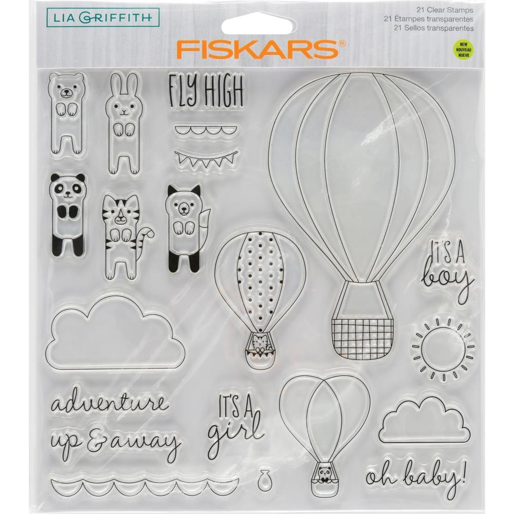 Fiskars Lia Griffith OH BABY Clear Stamps 90133 zoom image