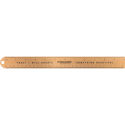 Fiskars Lia Griffith GOLD STUDIO 12 INCH RULER 06218 Preview Image