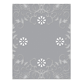 CEF-010 Spellbinders BOTANICAL FRAME Cut and Emboss Folder