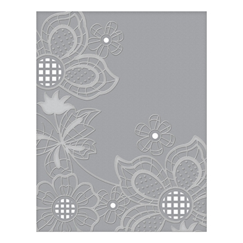 CEF-005 Spellbinders FLORET CLUSTER Cut and Emboss Folder