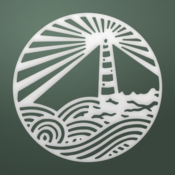 Couture Creations LIGHTHOUSE MEDALLION Die Seaside co726168