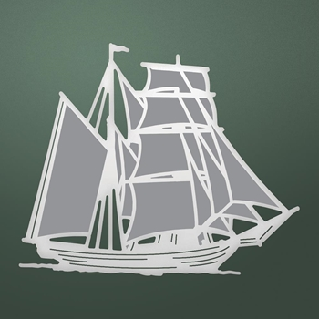 Couture Creations TALL SHIP Die Seaside co726167