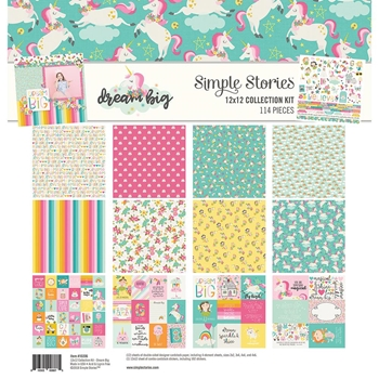 Simple Stories DREAM BIG 12 x 12 Collection Kit 10206