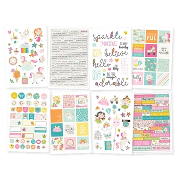 Simple Stories DREAM BIG 4 x 6 Stickers 10222