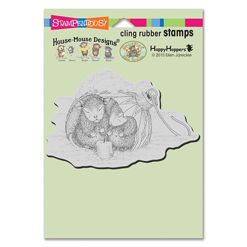 House Mouse Ornament Warmth Cling Stamp