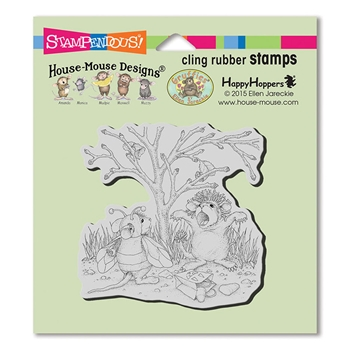 Stampendous Cling Stamp COSTUME PLAY hmcq21 House Mouse