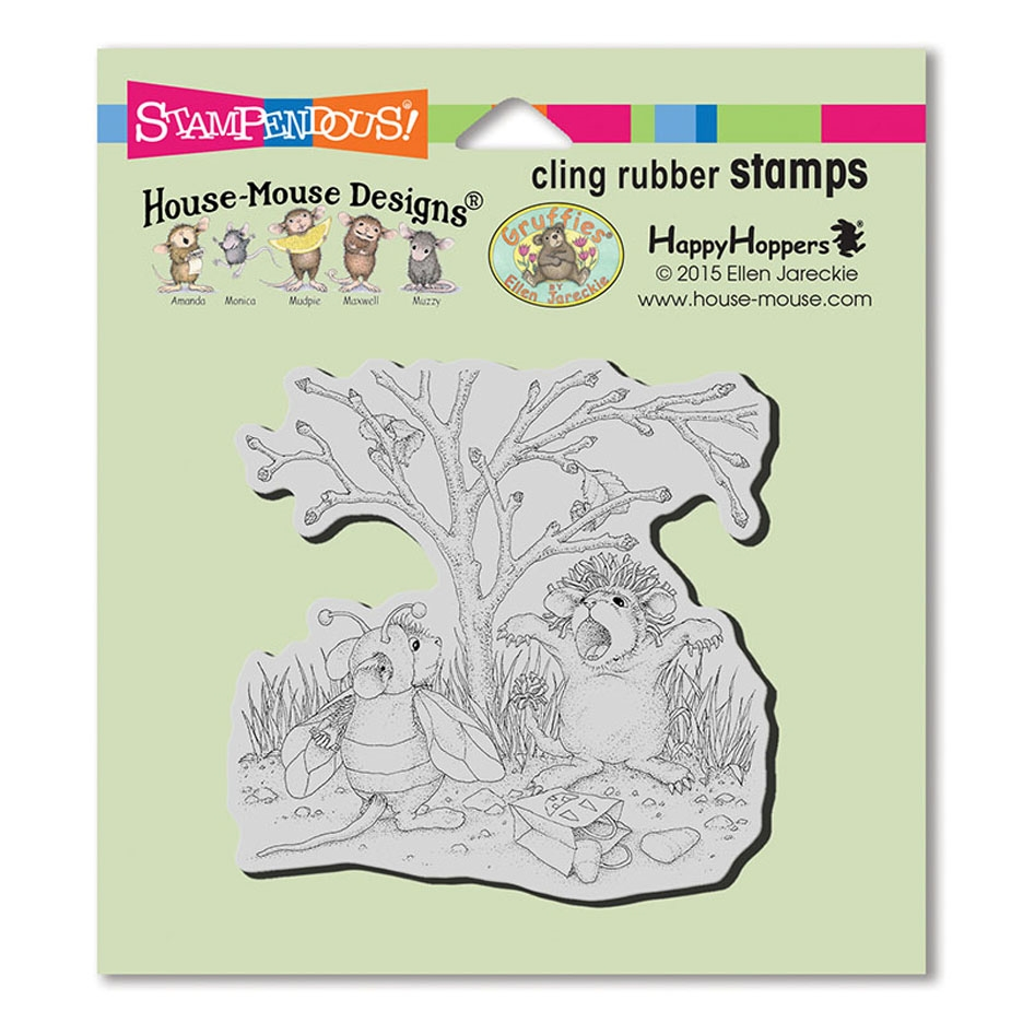 Stampendous, House Mouse Costume Play Cling Stamp