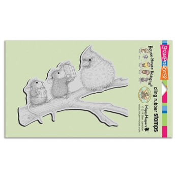 Stampendous Cling Stamp BIRDIE GIFTS hmcr123 House Mouse