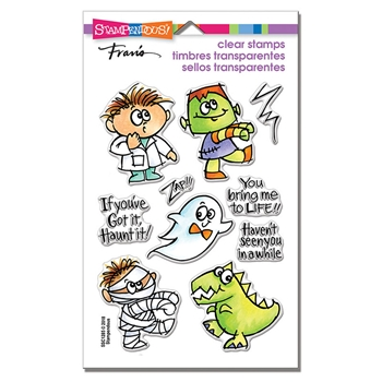 Stampendous Clear Stamps BRING TO LIFE ssc1285