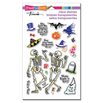 Stampendous Clear Stamps SKELETON HUMOR ssc1286