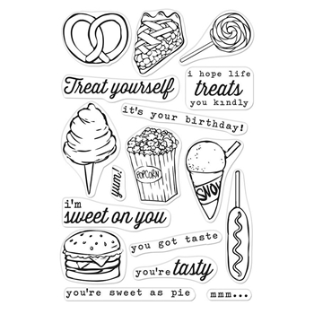 Hero Arts Clear Stamps YOU'RE SWEET AS PIE CM297