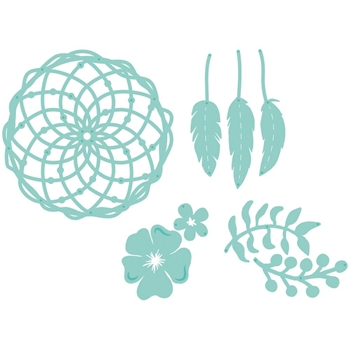 Kaisercraft FLORAL DREAM CATCHER Decorative DIY Cuts Dies DD818