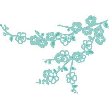 Kaisercraft CHERRY BLOSSOM Decorative DIY Cuts Die DD418