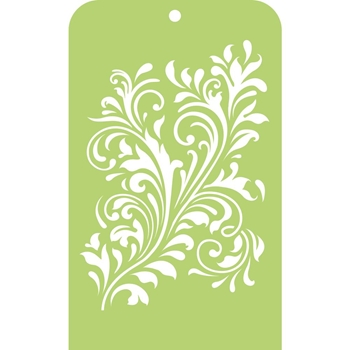 Kaisercraft FANCY FLOURISH Mini Designer Template Stencil IT036