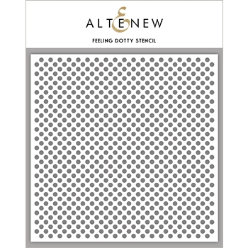 Altenew FEELING DOTTY Stencil ALT2388