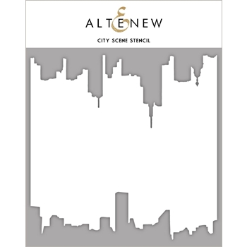 Altenew CITY SCENE Stencil ALT2384