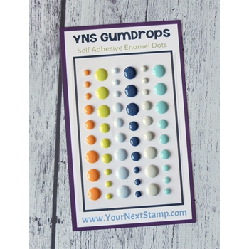Your Next Stamp SUMMER CHILL Gumdrops ynsgd094
