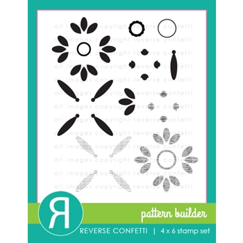 Reverse Confetti PATTERN BUILDER Clear Stamps