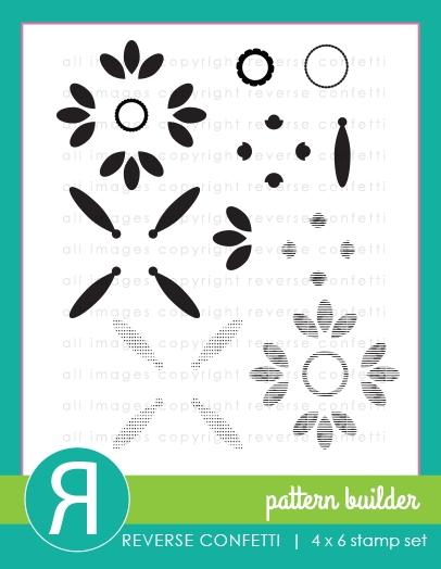 Reverse Confetti PATTERN BUILDER Clear Stamps zoom image