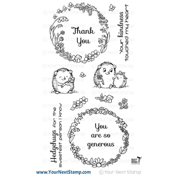 Your Next Stamp HEDGEHUGS Clear cyns644