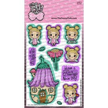 The Sassy Club RUE THE FAIRY Clear Stamps tscl154