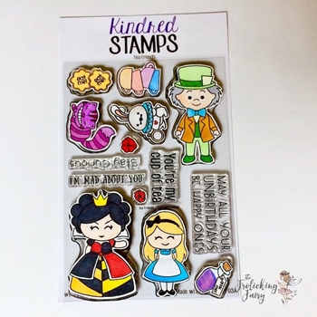 Kindred Stamps TEA FRIENDS Clear Stamp Set ks0412