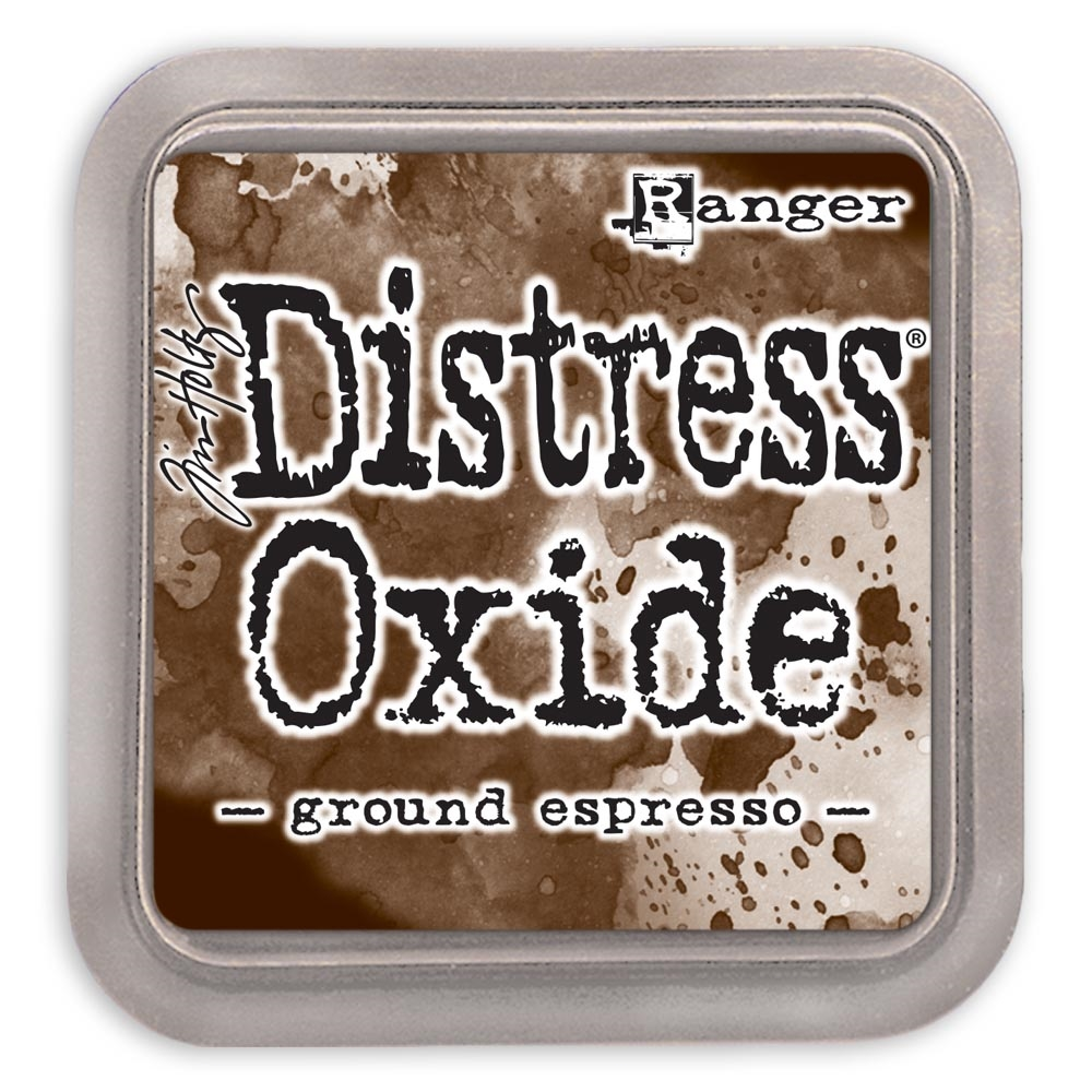 Tim Holtz Distress Oxide Ink Pad GROUND ESPRESSO Ranger tdo56010 zoom image