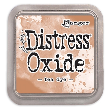 RESERVE Tim Holtz Distress Oxide Ink Pad TEA DYE Ranger tdo56270