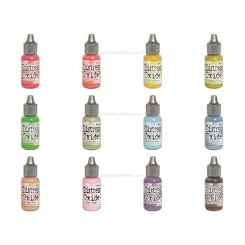 RESERVE Tim Holtz Distress OXIDE REINKERS SET OF 12 Ranger ranger113