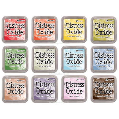 Tim Holtz Distress OXIDE INK PAD SET OF 12 Ranger ranger114 Preview Image